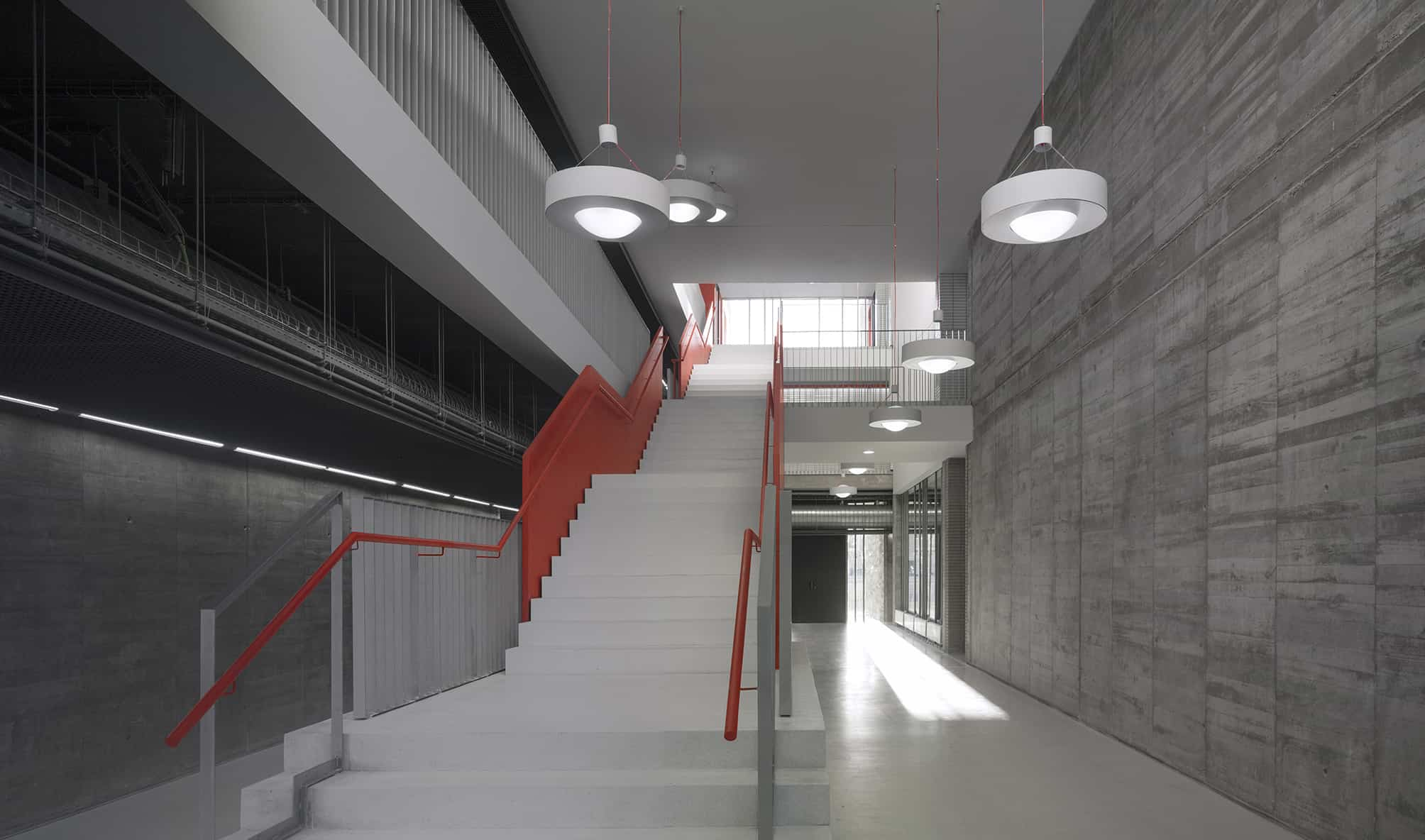 Ies coria landinez rey equipo l2g arquitectos slp - Arquitectura de interiores madrid ...