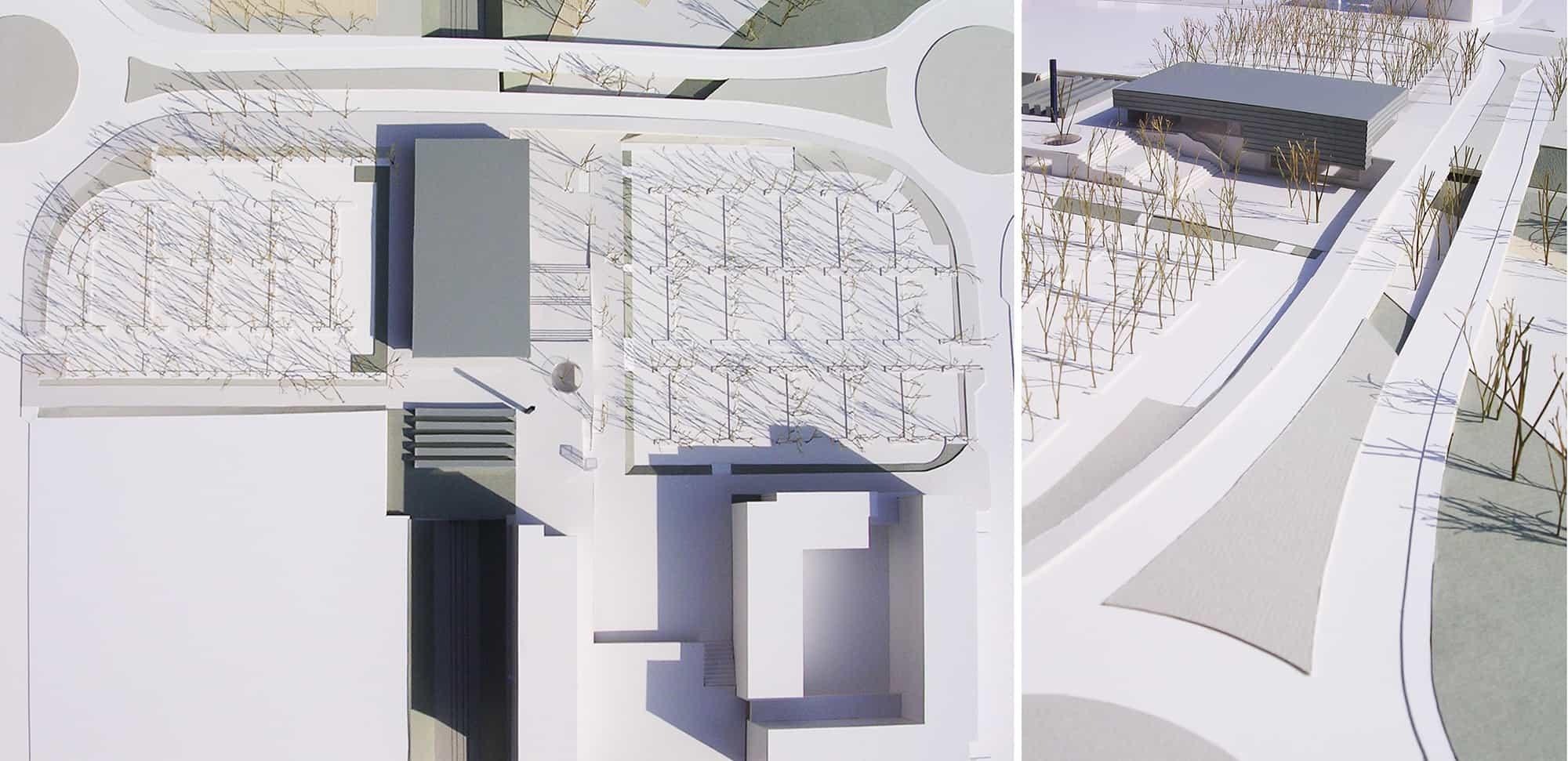 Estación Rivas Futura METRO de Madrid - maqueta - arquitectura transporte - LGV+LANDINEZ+REY   equipo L2G arquitectos, slp [ eL2Gaa ]