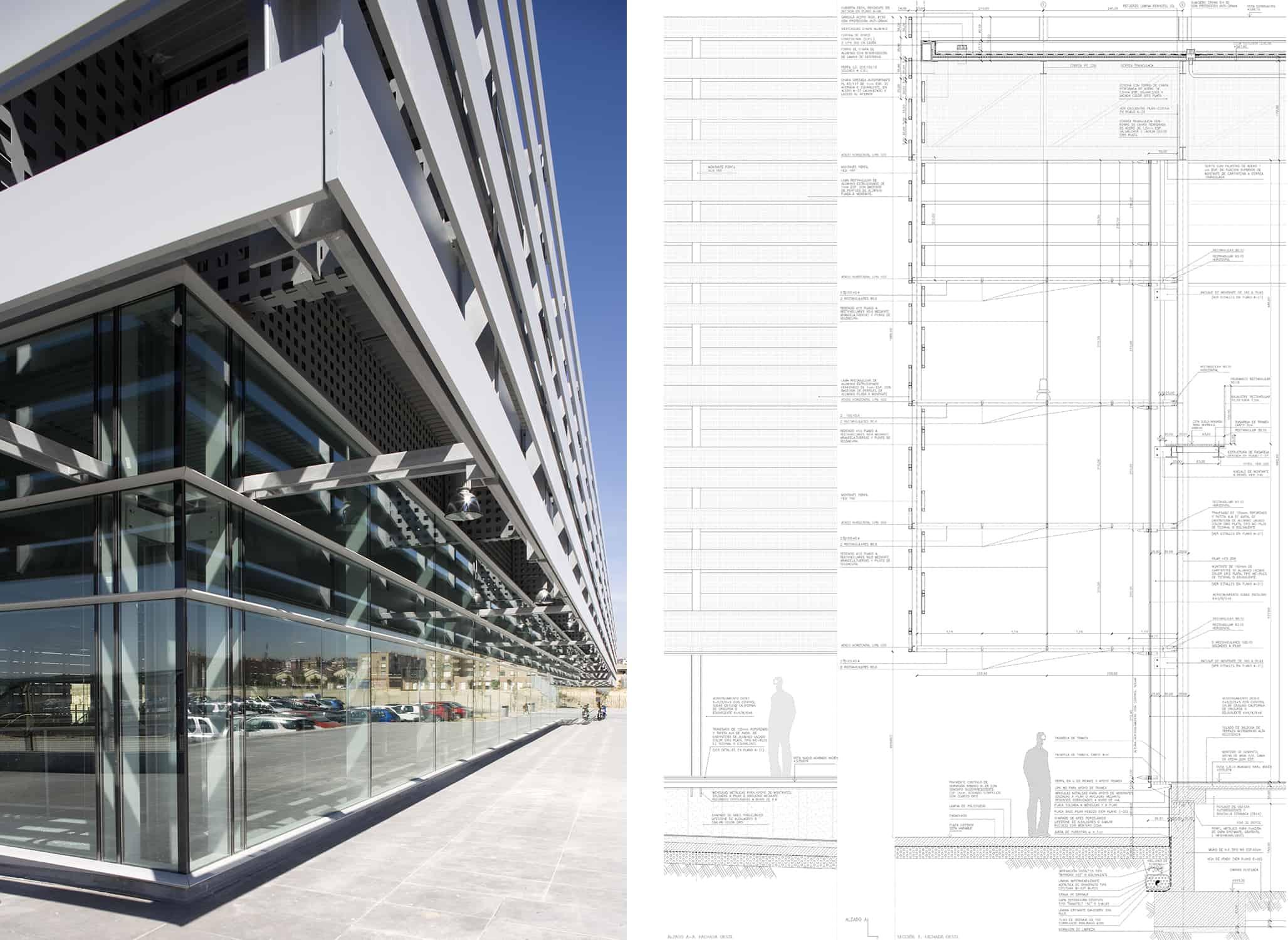 Secciones+Alzados Estación METRO de MADRID_LGV+LANDINEZ+REY   equipo L2G arquitectos, slp [ eL2Gaa ]