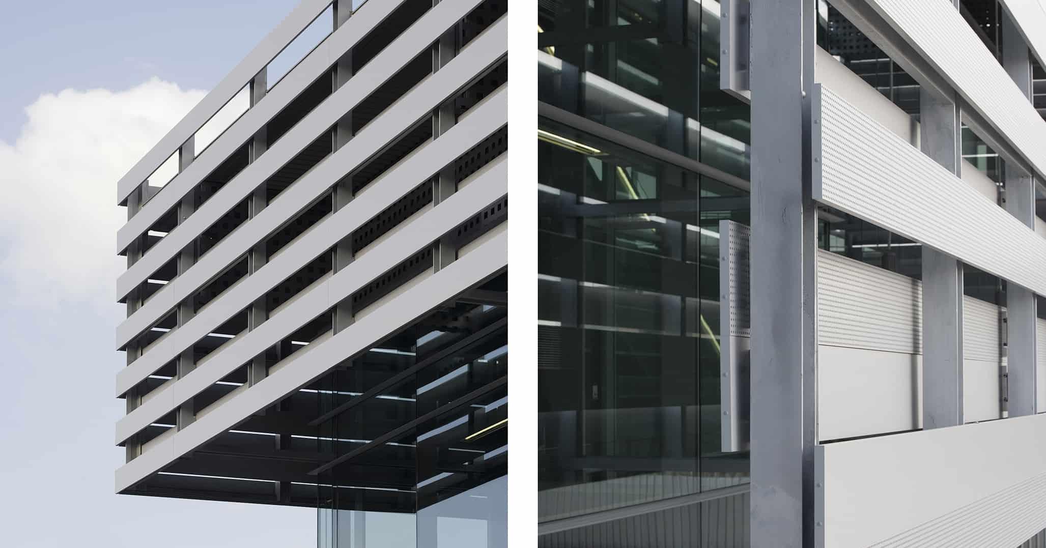 Fachada Estación METRO de MADRID_LGV+LANDINEZ+REY   equipo L2G arquitectos, slp [eL2Gaa ] - arquitectura del transporte