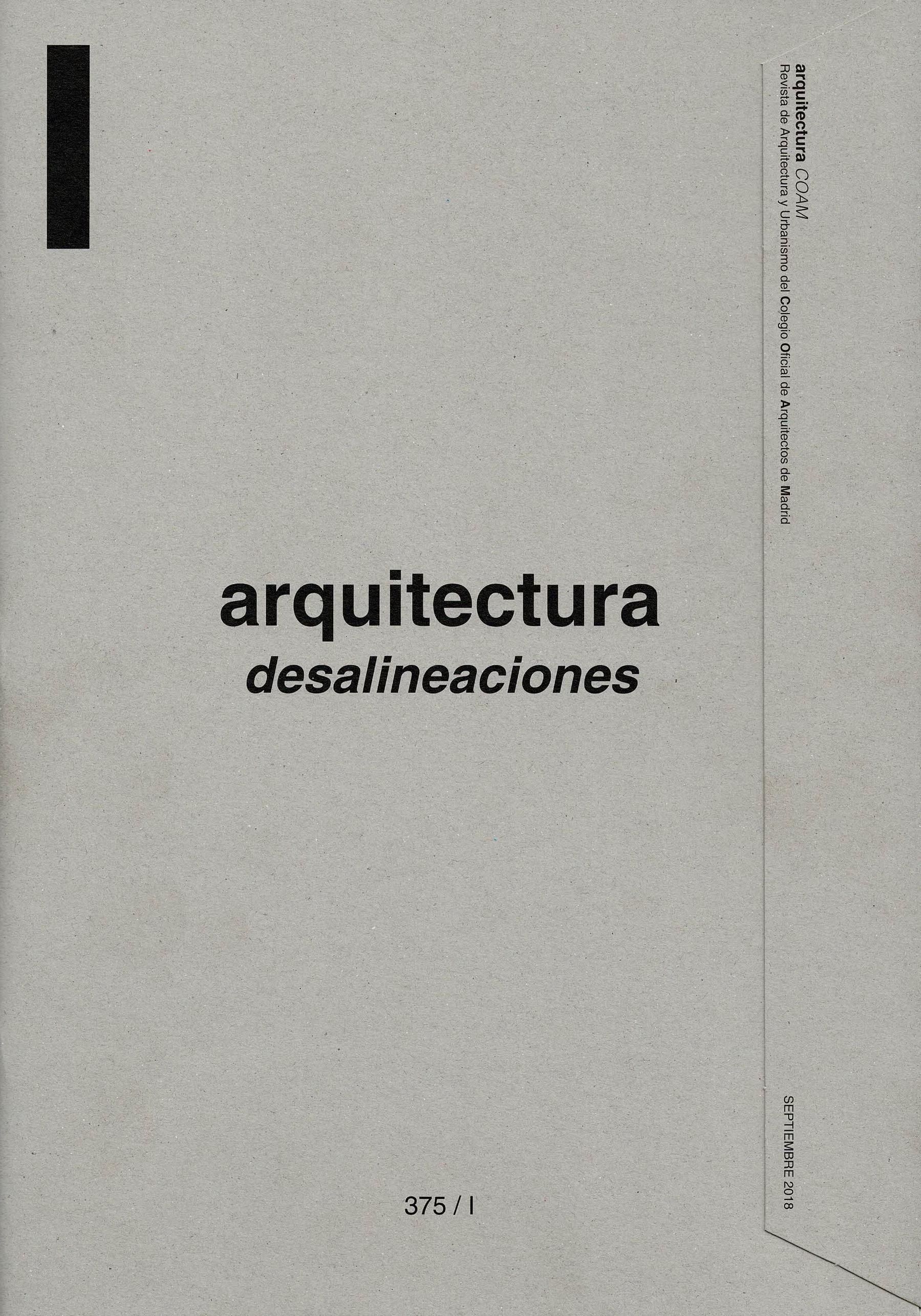 obra publicada - revista ARQUITECTURA COAM casa_iA LANDÍNEZ+REY arquitectos casa_iA
