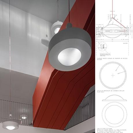Diseño Industrial, luminarias LANDINEZ+REY | equipo L2G arquitectos, slp [ eL2Gaa ]