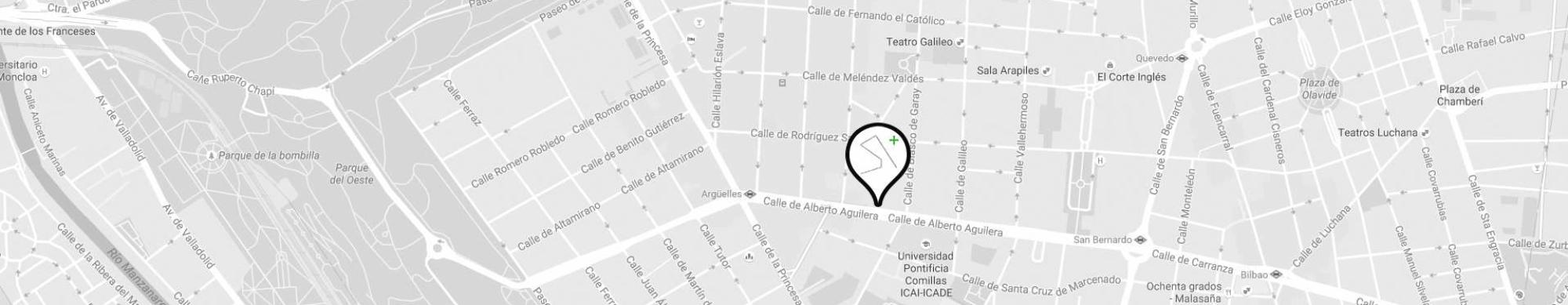 LANDÍNEZ+REY arquitectos   eL2Gaa - localización estudio de arquitectura en Madrid