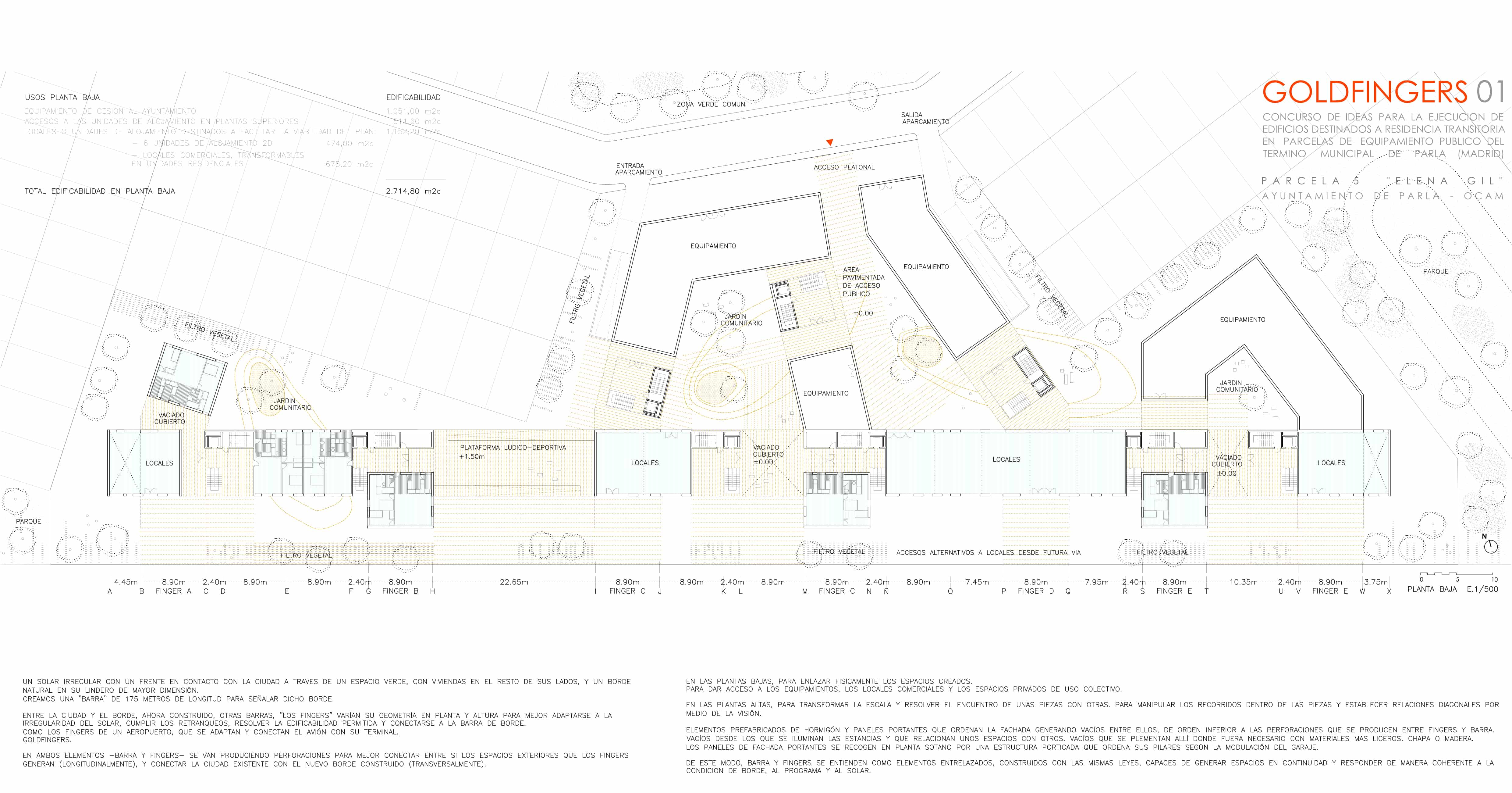 Concurso PARLA - LANDÍNEZ+REY | equipo L2G arquitectos, slp [ eL2Gaa ] + Raúl del Valle